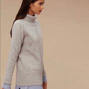 Aritzia Babaton Cashmere Wool Nicolas Swea…